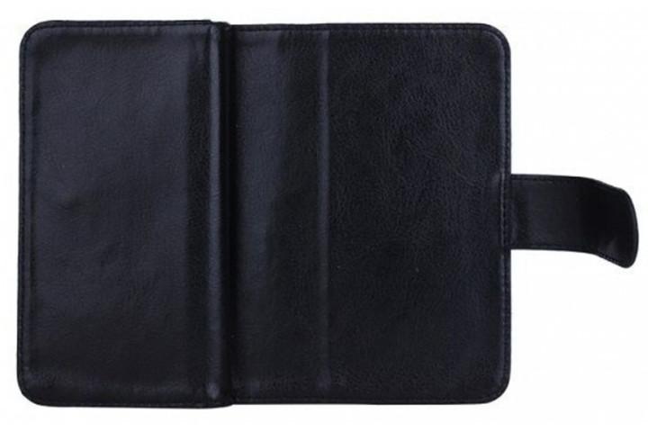 2-i-1 magnetisk PU-lædercover til iPhone og Samsung med plads til kort, sedler og billede6