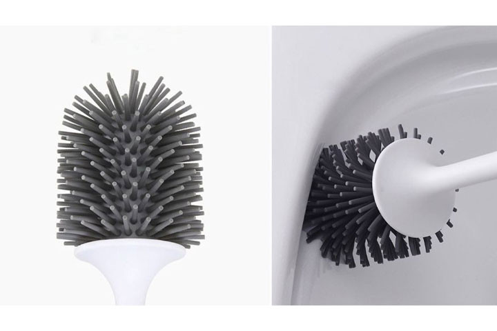 Gør toilettet rent med en antibakteriel toiletbørste4