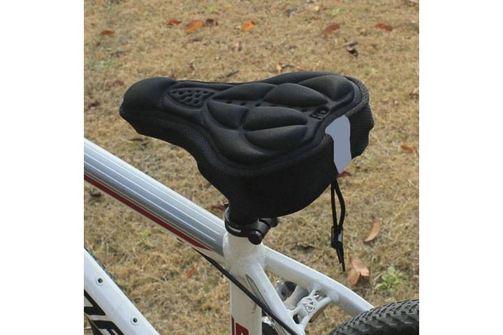Blød cykelsadel som kan monteres på din nuværende sadel2