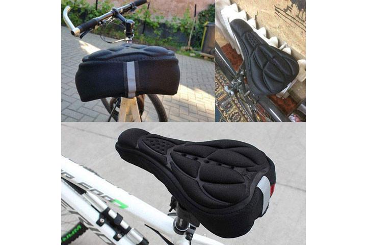Blød cykelsadel som kan monteres på din nuværende sadel3