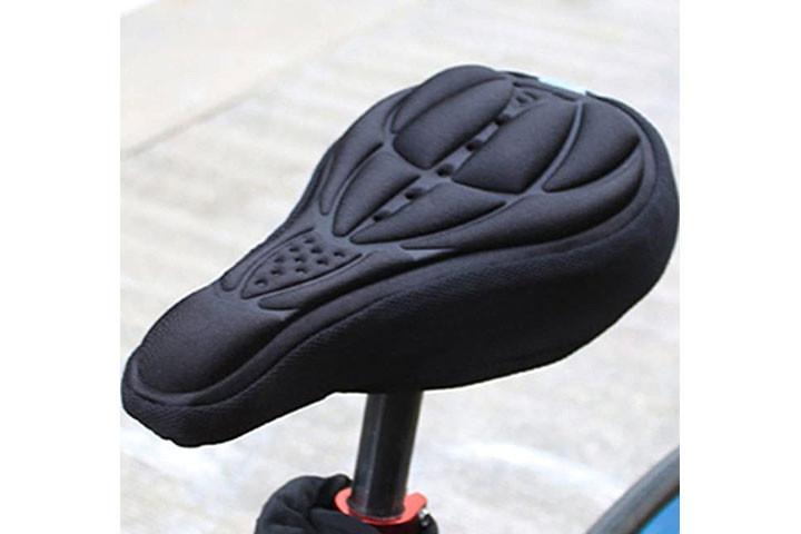 Blød cykelsadel som kan monteres på din nuværende sadel1