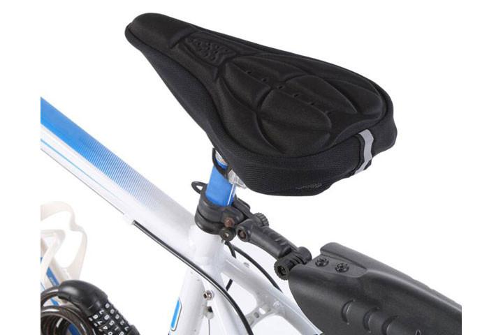 Blød cykelsadel som kan monteres på din nuværende sadel7