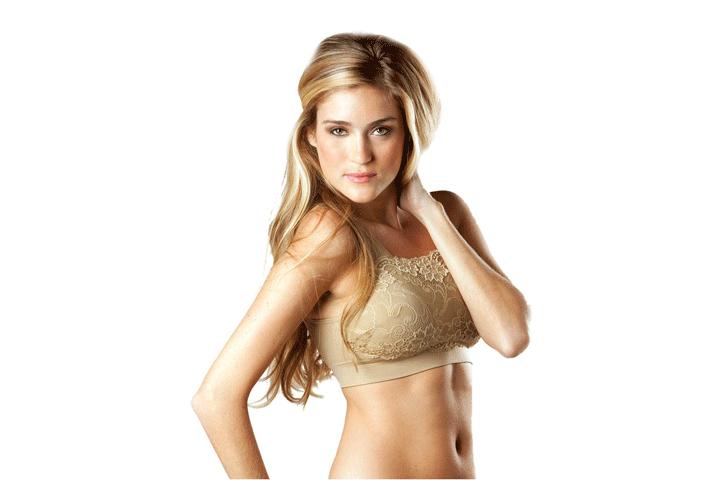 Få 5 stk. fine blonde bh'er i sort, hvid og beige, som både former og giver støtte til dine bryster7
