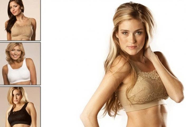Få 5 stk. fine blonde bh'er i sort, hvid og beige, som både former og giver støtte til dine bryster4