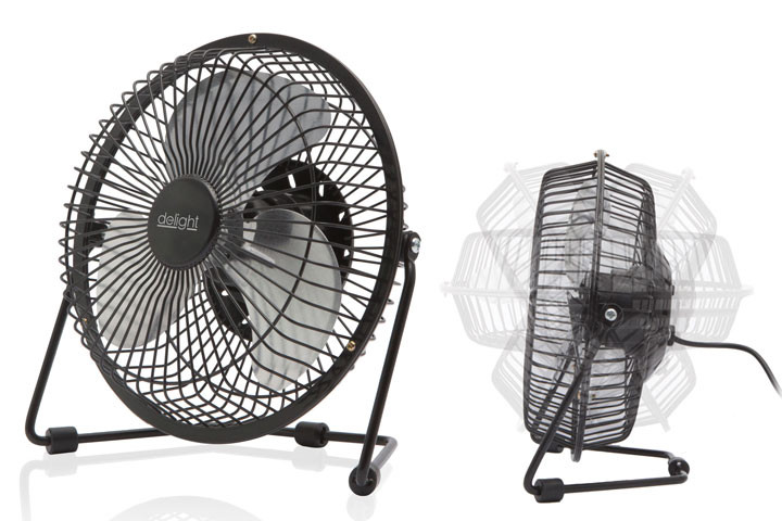 Kan nemt bruges på hjemmekontoret eller hvor du har brug for kølig luft1
