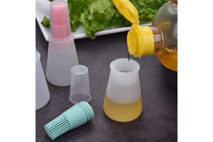 Smart silikoneflaske med børste2