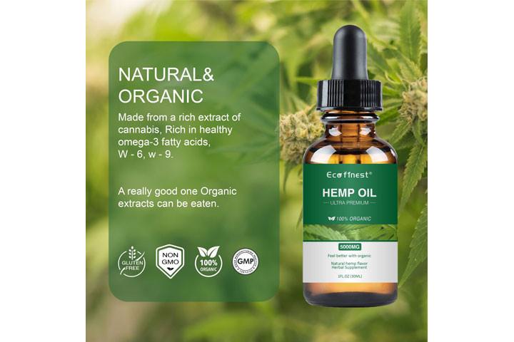 Økologisk cannabis olie, der hjælper dig med at bekæmpe smerter, angst og depression8