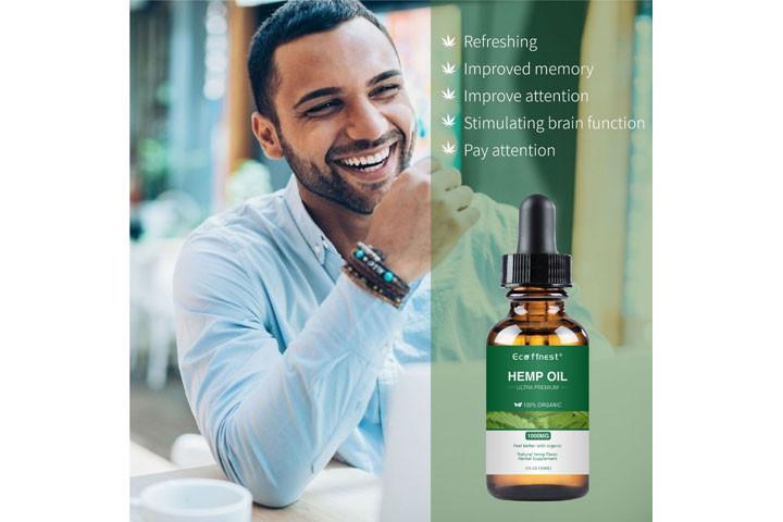 Økologisk cannabis olie, der hjælper dig med at bekæmpe smerter, angst og depression1