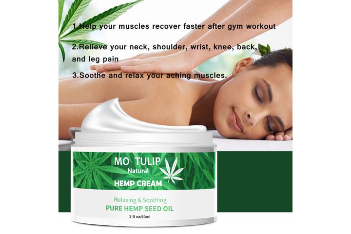 100% Naturlig cannabisoliecreme som fjerner rynker og linjer2
