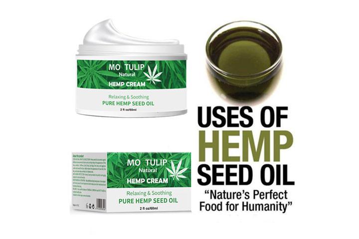 100% Naturlig cannabisoliecreme som fjerner rynker og linjer6