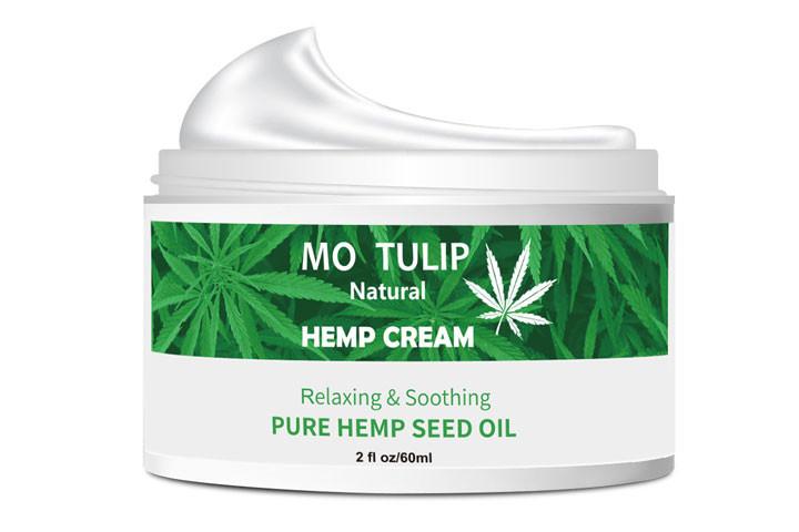 100% Naturlig cannabisoliecreme som fjerner rynker og linjer7