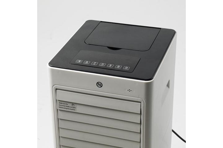 Få varmen eller bliv kølet ned med den multifunktionelle varmeblæser/AirCooler2