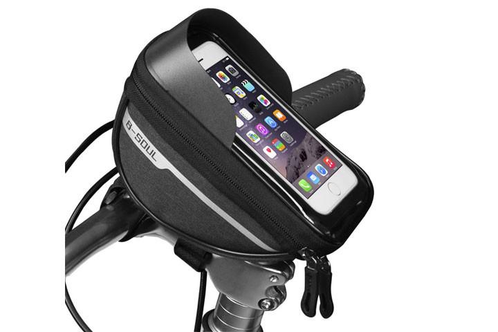Mobilholderen har en ekstra følsom touch-overflade så du altid kan bruge din telefon1