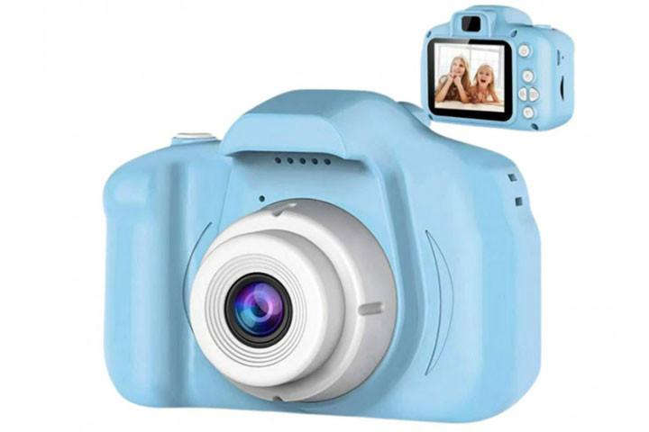 Det digitale kamera er specielt lavet til børn og gør det nemt at bruge2