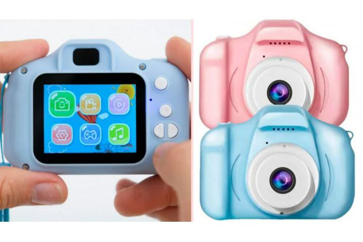 Det digitale kamera er specielt lavet til børn og gør det nemt at bruge1