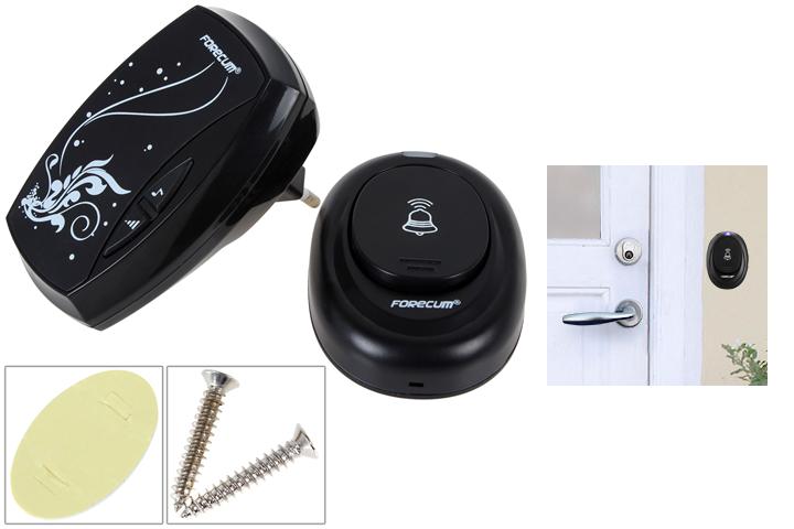 Er du i tvivl om det bankede på døren? Med en trådløs dørklokke kan du altid høre gæsterne!2