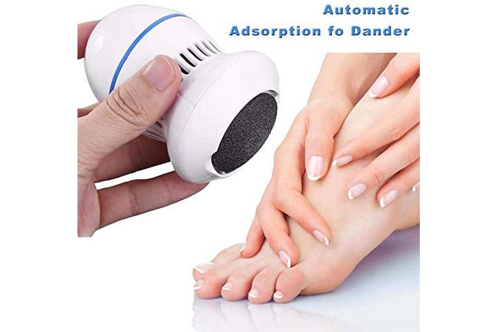 Elektrisk fodfil- Få silkebløde fødder og blød hud5