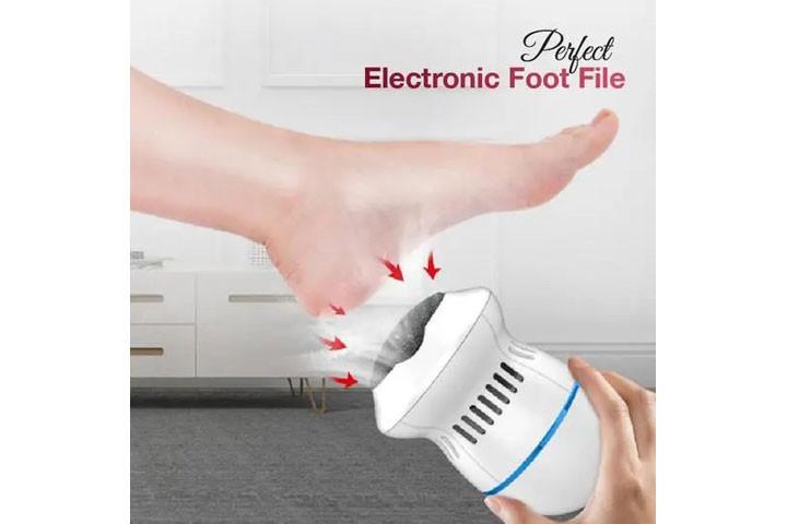 Elektrisk fodfil- Få silkebløde fødder og blød hud1