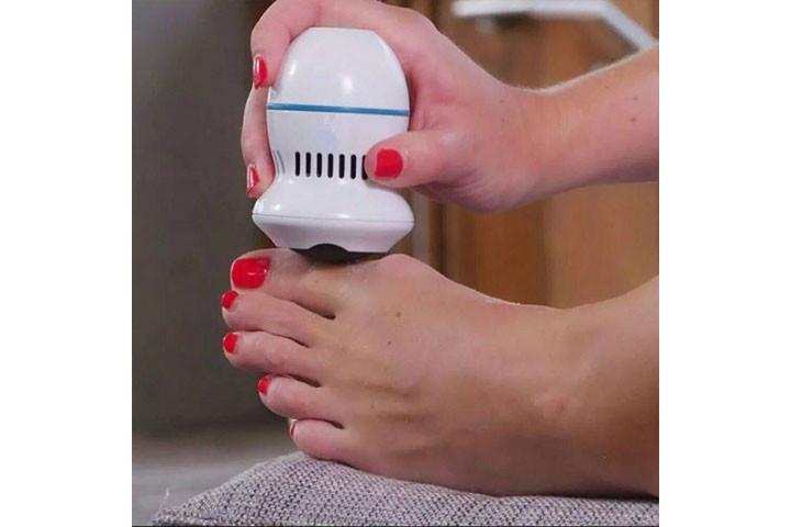 Elektrisk fodfil- Få silkebløde fødder og blød hud9