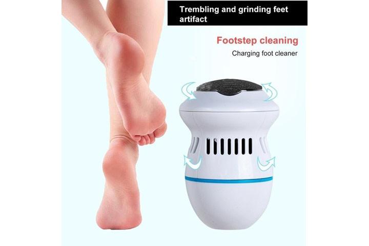 Få nemt bløde, fødder med elektronisk fodfil2