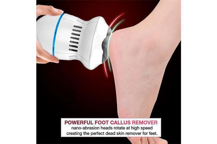 Få nemt bløde, fødder med elektronisk fodfil4
