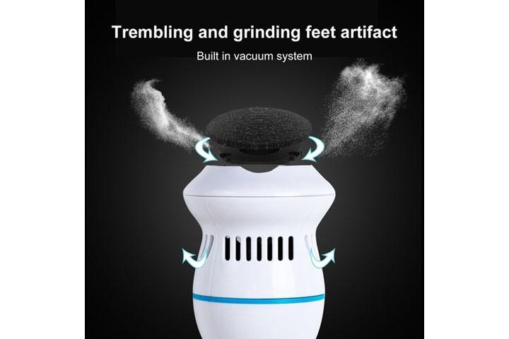 Få nemt bløde, fødder med elektronisk fodfil7