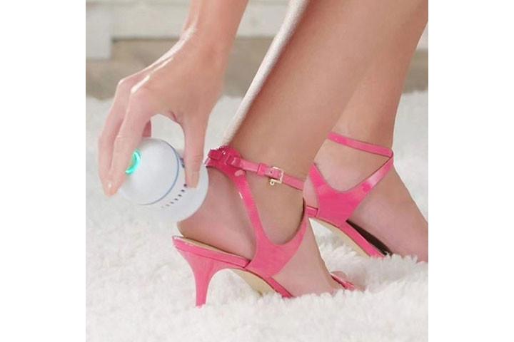 Få nemt bløde, fødder med elektronisk fodfil3