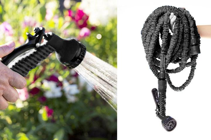 Slip for bøvlet med uhåndterbare haveslanger, der ikke er lange nok.2