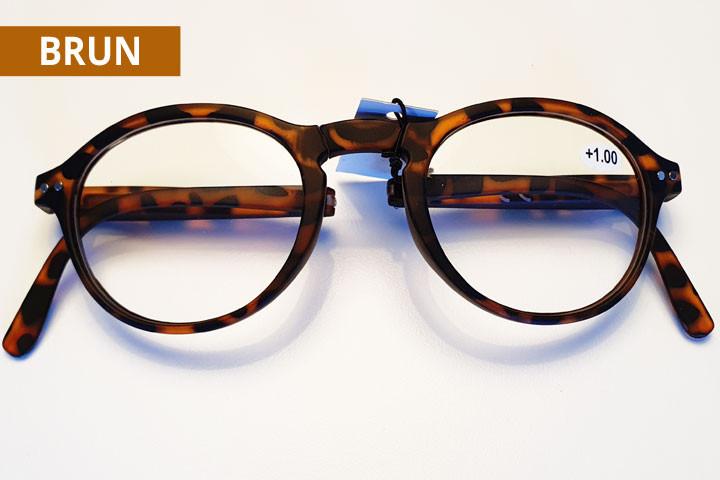 Foldbare læsebriller i farver der matcher de fleste outfit.6