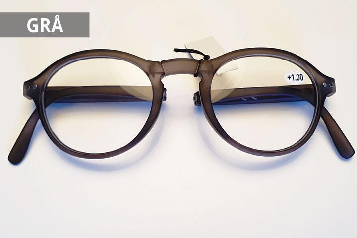 Foldbare læsebriller i farver der matcher de fleste outfit.4