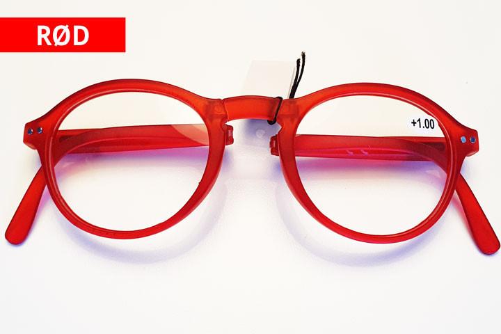 Foldbare læsebriller i farver der matcher de fleste outfit.5