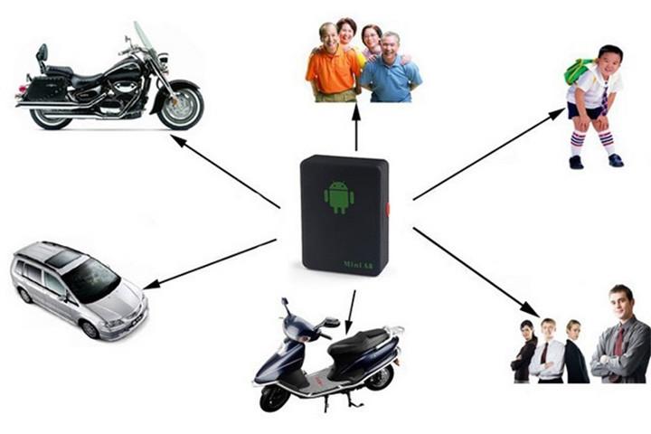GPS tracker med tilhørende app til din smartphone 3