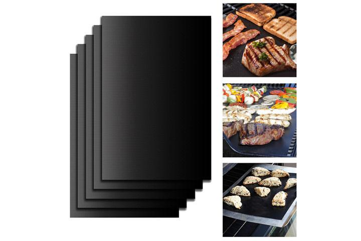 Gør det mere bekvemmeligt at grille med disse smarte grill måtter i teflon4