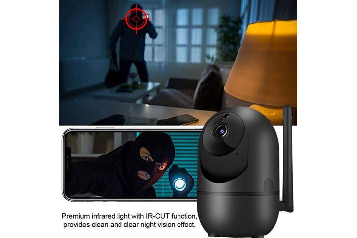 Smart overvågningskamera du kan bruge både inde og ude for at beskytte dit hjem1