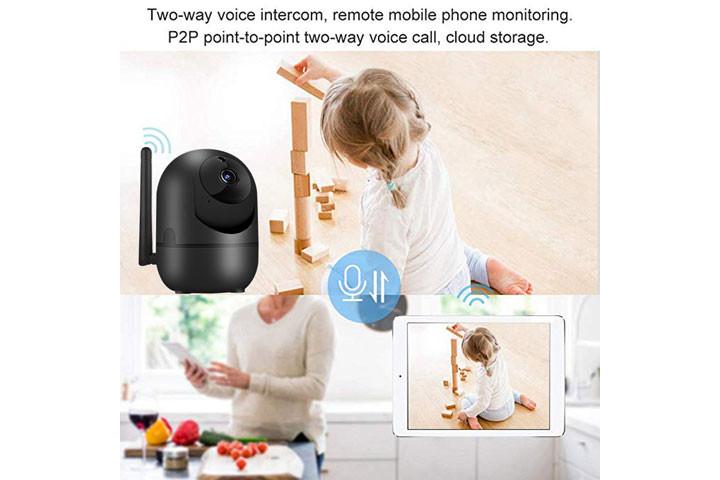 Smart overvågningskamera du kan bruge både inde og ude for at beskytte dit hjem2