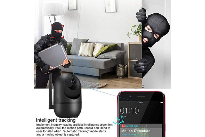 Smart overvågningskamera du kan bruge både inde og ude for at beskytte dit hjem3