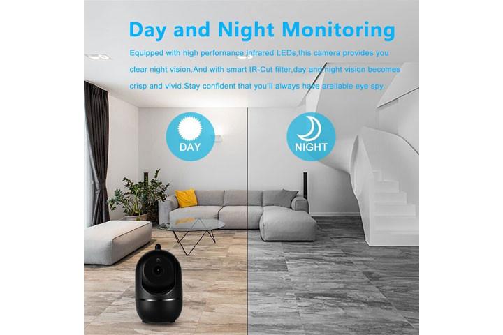 Smart overvågningskamera du kan bruge både inde og ude for at beskytte dit hjem11