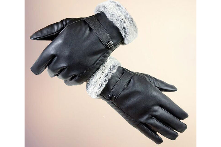 Handsker til damer og herrer med tykt foer 6