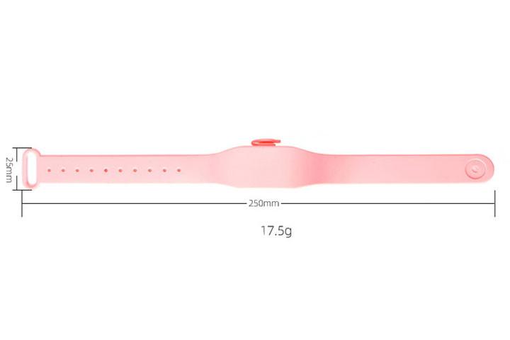 Armbånd med spritbeholder- bakteriefri 24/73