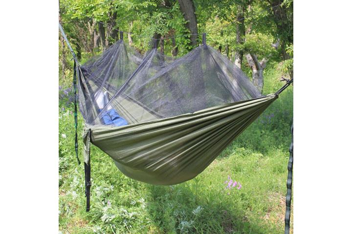 Hængekøje med myggenet til friluftsmennesket3