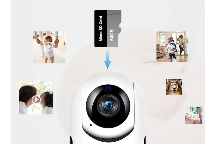 Smart overvågningskamera du kan bruge både inde og ude for at beskytte dit hjem8