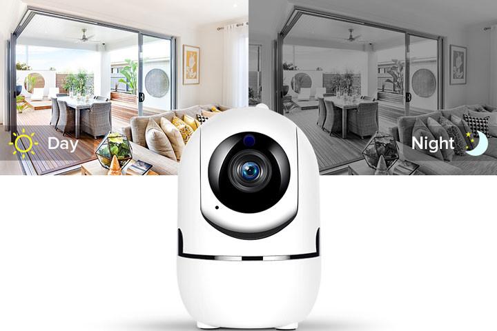 Smart overvågningskamera du kan bruge både inde og ude for at beskytte dit hjem9