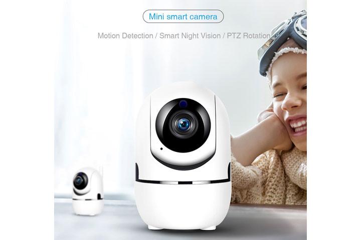 Smart overvågningskamera du kan bruge både inde og ude for at beskytte dit hjem5