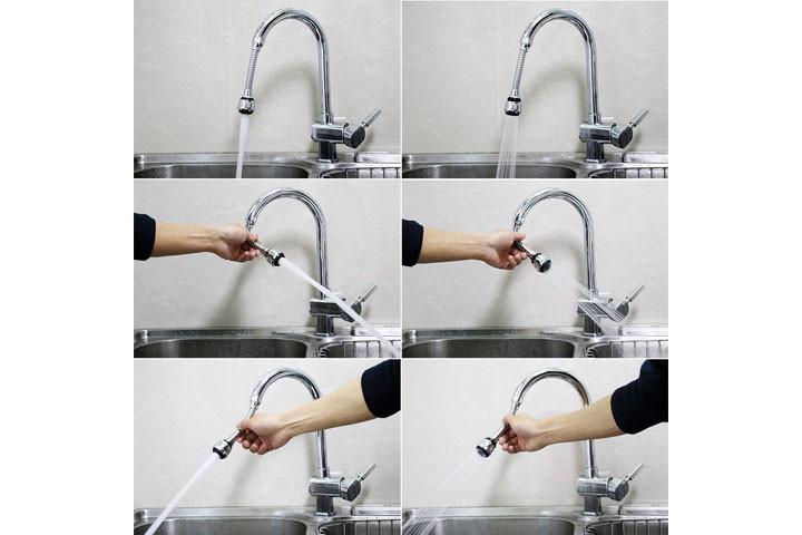 Vandbesparende dysehoved til vandhanen3