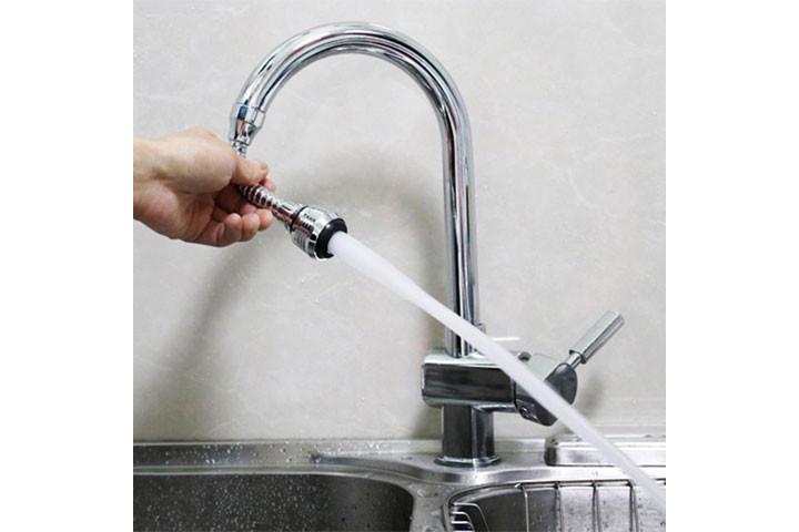 Vandbesparende dysehoved til vandhanen2