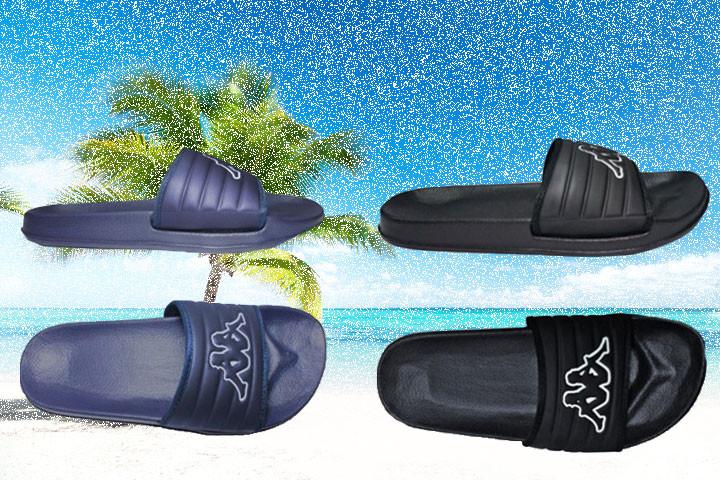 Kappa badesandaler- vælg mellem farverne blå eller sort1