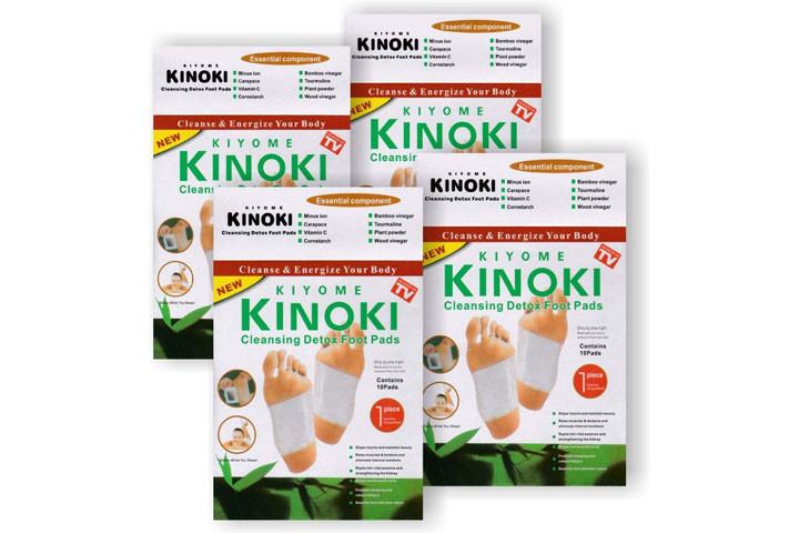 Kinoki fodplastre, der udrenser og detoxer din krop2