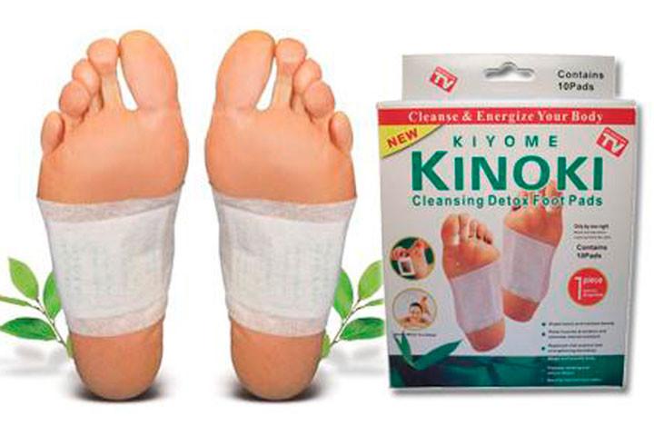 Kinoki fodplastre, der udrenser og detoxer din krop1
