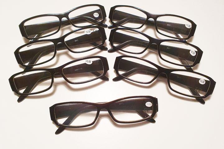 Hele 2 par Smarte og billige læsebriller - prisen er inkl. fragt3