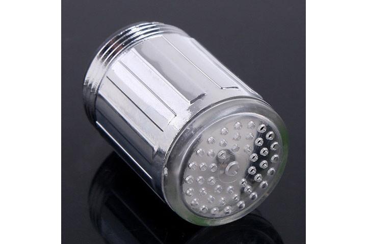 LED vandhanehoved med temperaturskiftene lys3